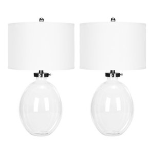 Safavieh Martin Glass Table Lamps, Set of 2