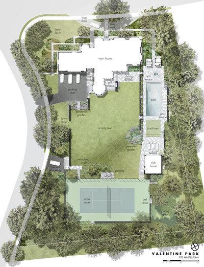 Transitional  by Matthew Cunningham Landscape Design LLC