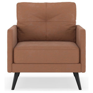 Taylor Armchair Micro Suede Whiskey