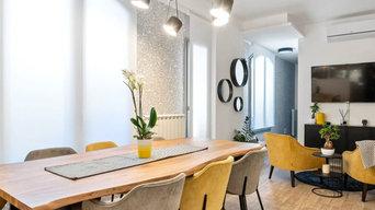 progettazione di interior design completa