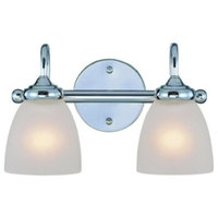 Craftmade Lighting Spencer - Two Light Bath Vanity, Chrome Finish