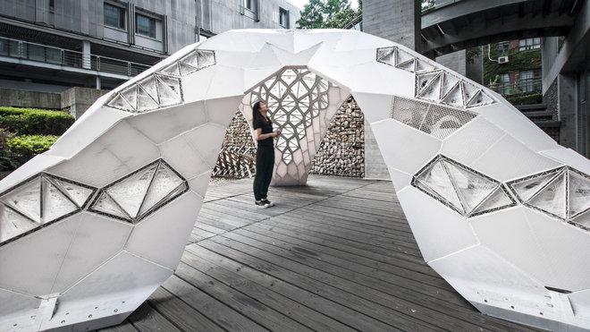 Vulcan Pavillon, Beijing Design Week 2015
