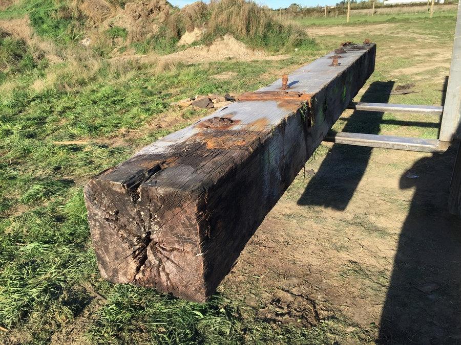 Quality Hardwood Rustic Beams