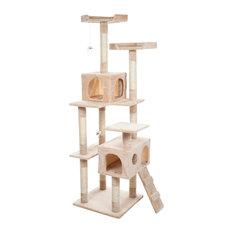 Sleep and Play Skyscraper Cat Tree