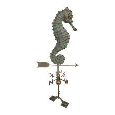 furniture barn usa seahorse weathervane patina copper weather vanes - Weather Vanes