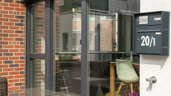 neue BWD Hausmarke Fenster und Türen