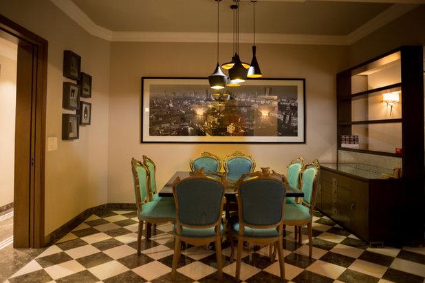 Dining Room by LA CASA DECOR