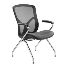 luxury office chairs. fuzion luxury aluminum frame guest chair office chairs i