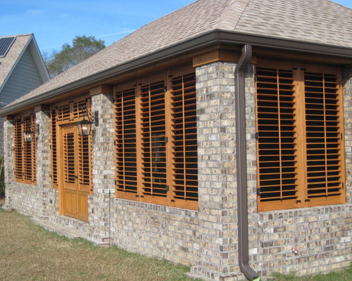 House Exterior Shutters Best 25 House Shutters Ideas On Pinterest ...