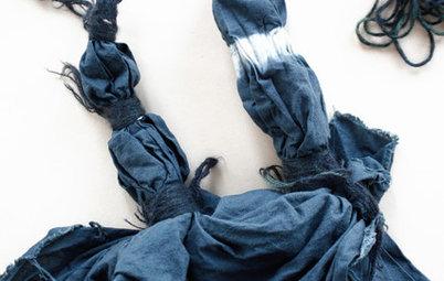 DIY-Ideen: Alte Stoffe neu einfärben – so geht's
