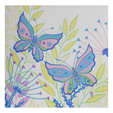 Butterfly Original Gouache Painting,  Butterfly Wall Art by Olena Baca