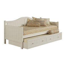 hillsdale staci daybed with trundle white daybeds