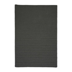 Colonial Mills, Inc - Simply Home Solid Rug, Gray, 12'x15' - Outdoor Rugs