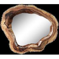Live Edge Reclaimed Acacia Wood Wall Mirror
