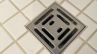 Shower Floor Restoration