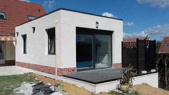 Création d'extension de maison