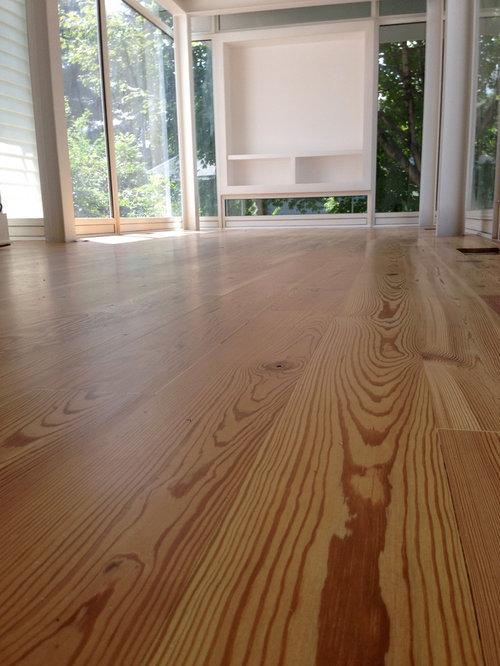 Modern Reclaimed Heart Pine Flooring