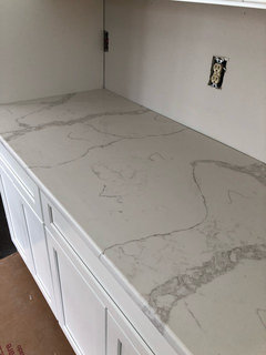 Sharing Our Calacatta Verona Counters For Those Who Stalked The Internet Like I Did They Are Gorgeous It S A Clean White But Not Stark And There