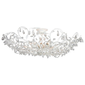 Michelangelo Ceiling Light, Large, Frosted White