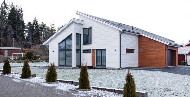 Contemporary Fasad by Energivillan Norden