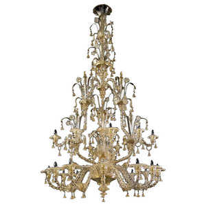 Magnifico 4 Tier Murano Glass Chandelier