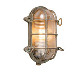 Wall/Ceiling Lamp Nautica 1 Oval Antique