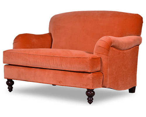 Basel Tight Back English Roll-Arm Sofas and Chairs - Armchairs And Accent  Chairs