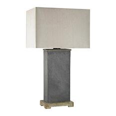 "Dimond D3092 Elliot Bay Outdoor Lanterns 16"" Gray Slate Slate Stone"