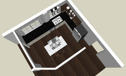 Need Input On What Size Recessed Lights And Light Layout For Kitchen