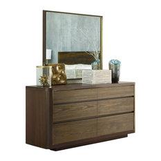 American Drew AD Modern Organics Howard Dresser with Holt Landscape Mirror