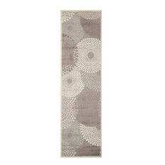 Graphic Illusions Area Rug, Gray, 2'x5'9""