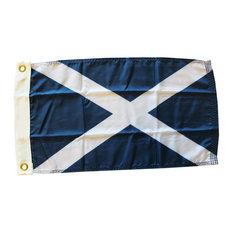 "Scotland, 12""x18"" Nylon Flag, St. Andrews"