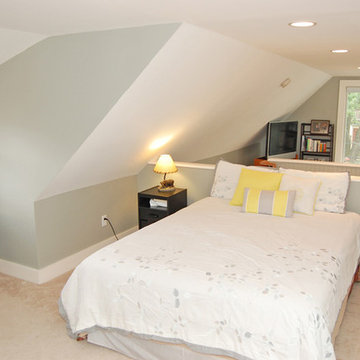 Finished attic as Guest Bedroom