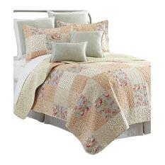 Sherry Kline Riverside Printed Cotton 3-piece Quilt Set, King