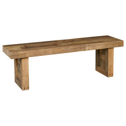 Rustic Accent And Storage Benches by Kosas