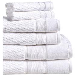 Contemporary Bath Towels by LINTEX LINENS INC