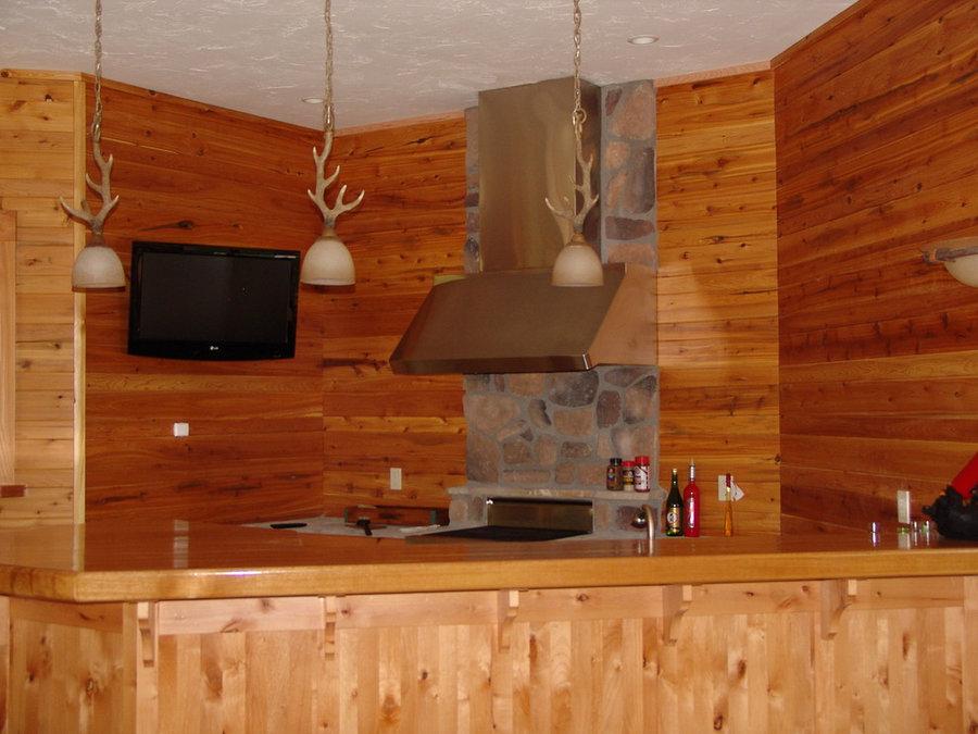 TV Installation in Indoor/Outdoor Kitchen