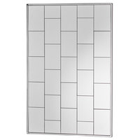 Sade Glam Brick Patterned Wall Mirror