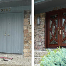 Replacement Doors – Before and After
