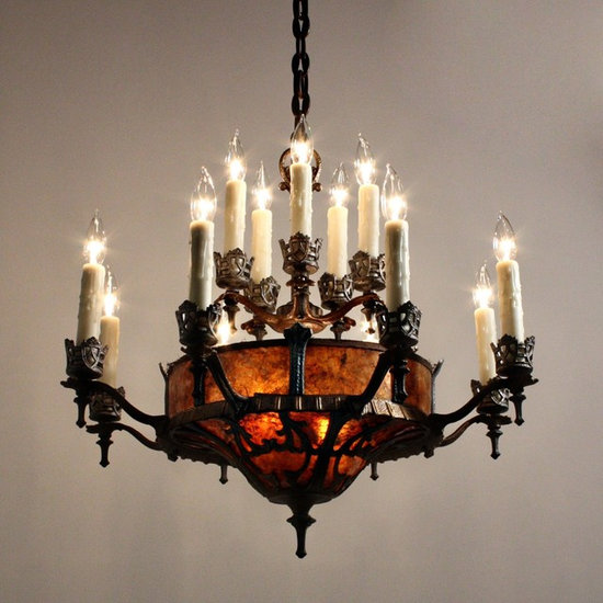 Antique Gothic Revival Lighting - Chandeliers - Antique Gothic Revival Lighting