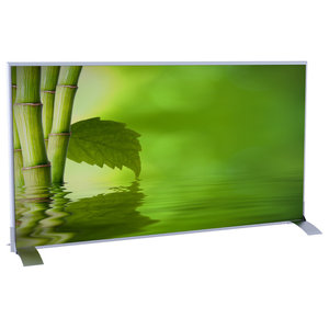 Paperflow EasyScreen Horizontal Divider Screen, Bamboo With Leaf