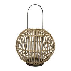 "Bamboo Lantern, 12""x17"""