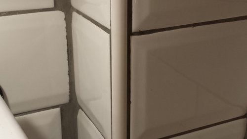 Problem With Metro Tile With Grey Grout In Kitchen