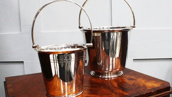 Decorative Silver Plated Ice Buckets