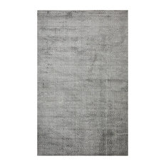 Chevelle, Contemporary Modern Hand Loomed Area Rug, Charcoal