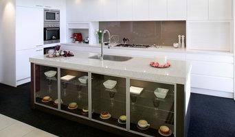 Kitchen - Coloured Glass Splashback
