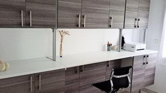 Petit bureau avec un petit budget.