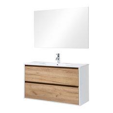 Melanie Bathroom Vanity, 100 Cm