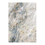 "Amara Area Rug 7467-950 Gray/Blue, 9'x12'10"""
