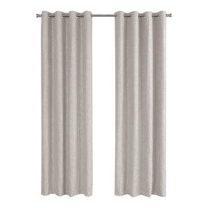 Room Darkening Curtain Panel In Ivory